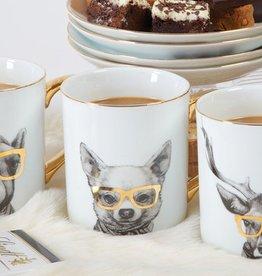 8 Oak Lane Critter Dog Coffee Mug