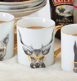 8 Oak Lane Critter Deer Coffee Mug