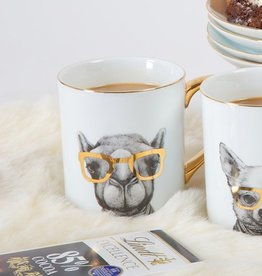 8 Oak Lane Critter Camel Coffee Mug