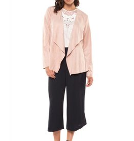 Dex Rose Cloud Open Front Jacket
