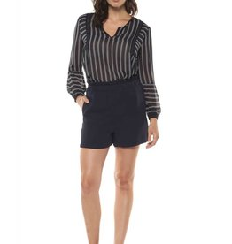 Dex Indigo Stripe Blouse