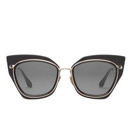 Perverse Sunglasses Glossy Black PC/Metal Frame Sunglasses