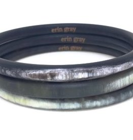 Erin Gray Buffalo Horn Bangle Stack