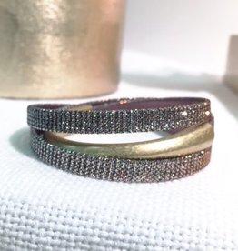 Erin Gray Hooked on a Cure Triple Wrap Bracelet