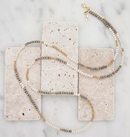 Stone + Stick Hopscotch Layering Necklace