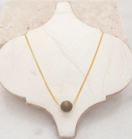 Stone + Stick Tiny Bubble Necklace