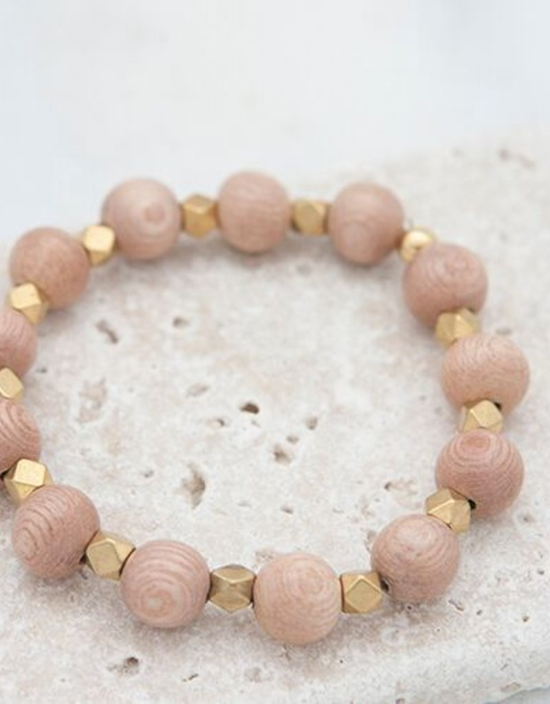 Stone + Stick Essentials 10mm Stretch Bead Bracelet
