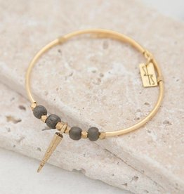 Stone + Stick Golden Spike Wrap Bracelet