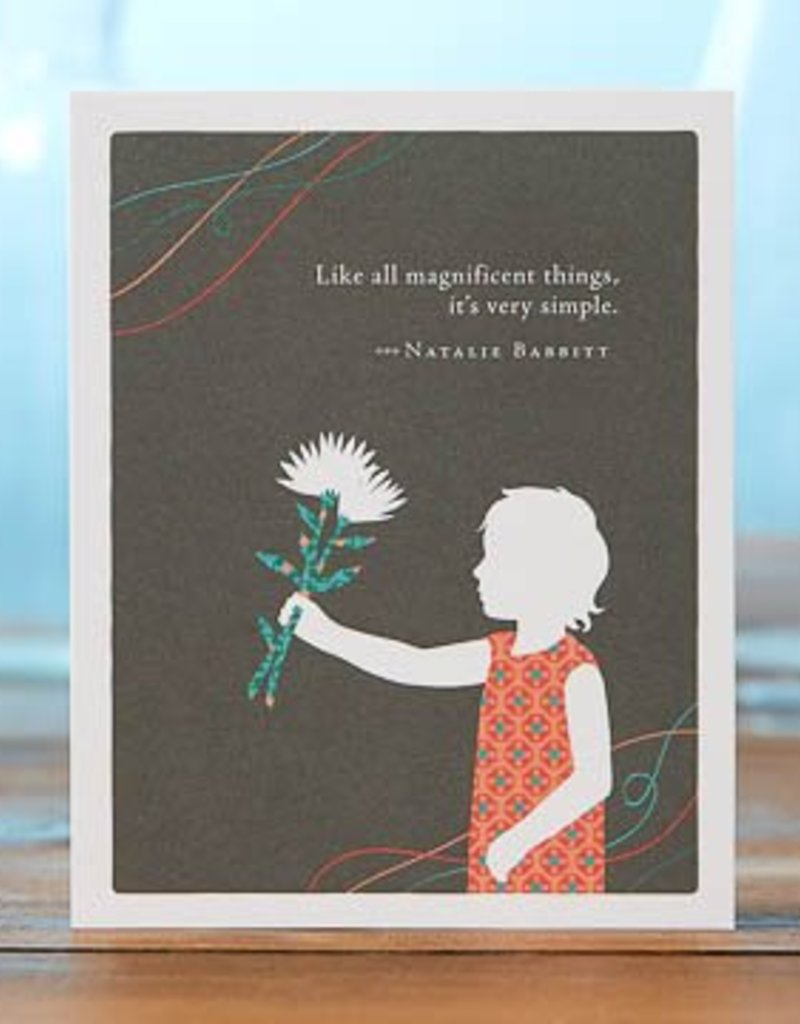 Compendium 'Like all magnificent things' Card
