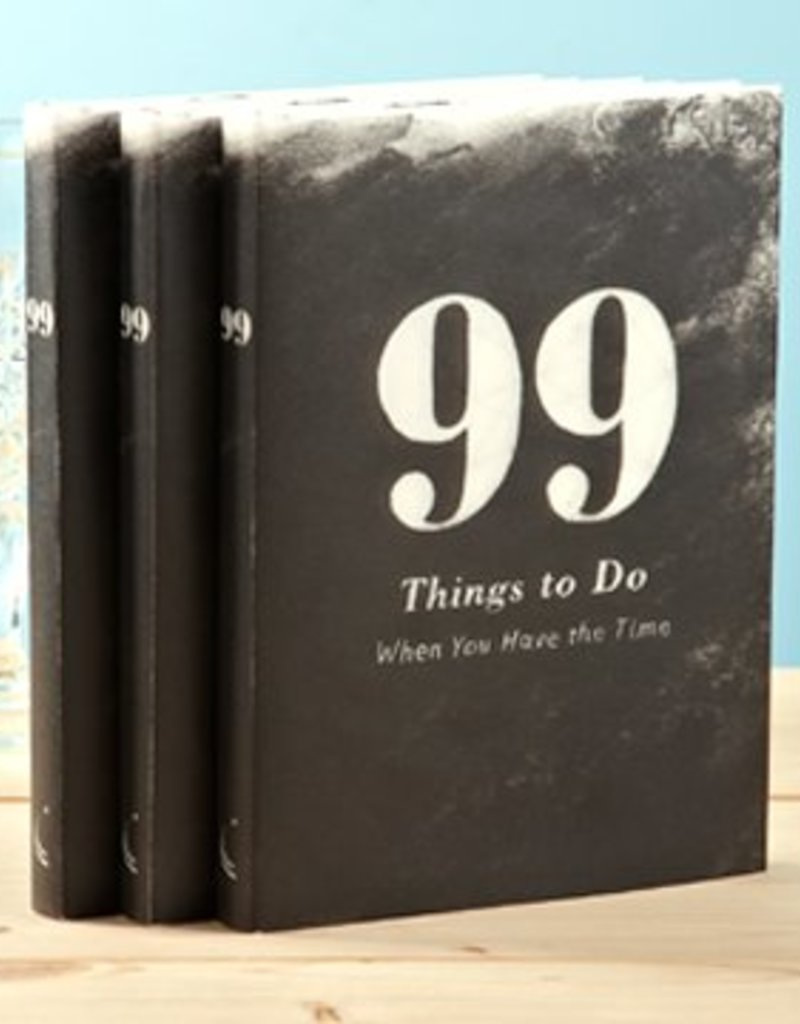 Compendium 99 Things to Do When You Have the Time Book