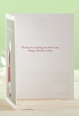Compendium Mothers Day Card 'We are shaped'