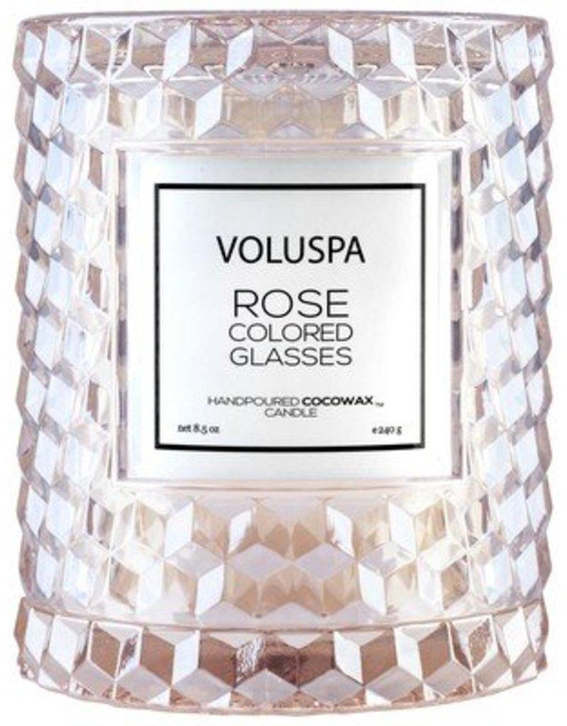 Voluspa Icon Candle w/Clouche Cloche Clover 8.5oz