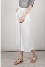 Molly Bracken White Crop Culotte