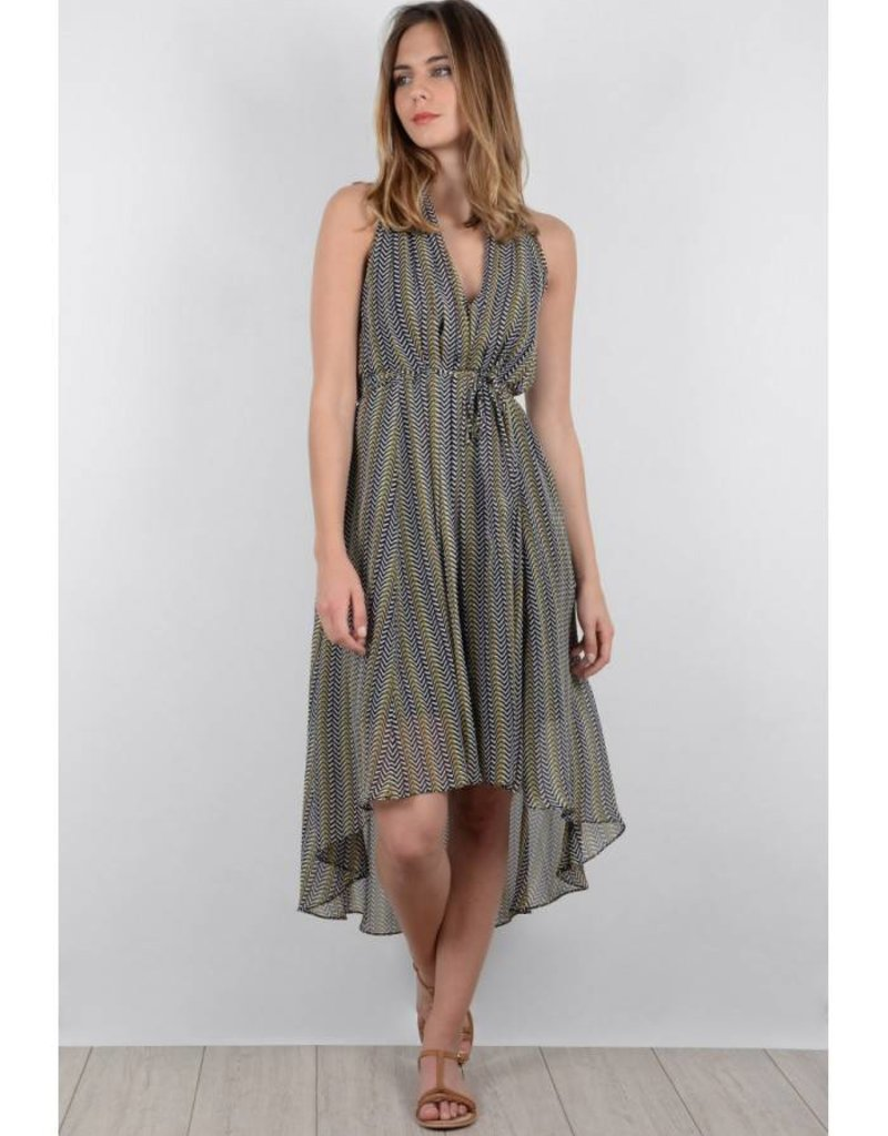 Molly Bracken Khaki Finesse Dress