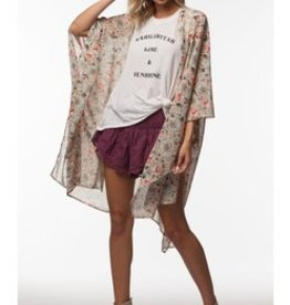 PPLA Floral Print Kimono