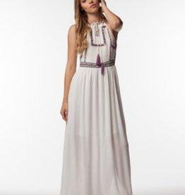 PPLA Ivory Long Maxi Dress