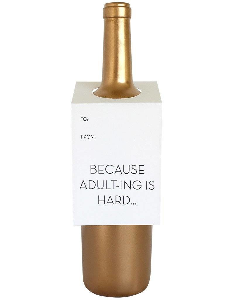 "Chez Gagne ""Adulting Is Hard"" Card"