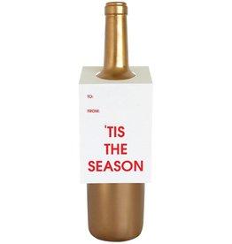 """Chez Gagne """"Tis The Season"""" Wine Card"""