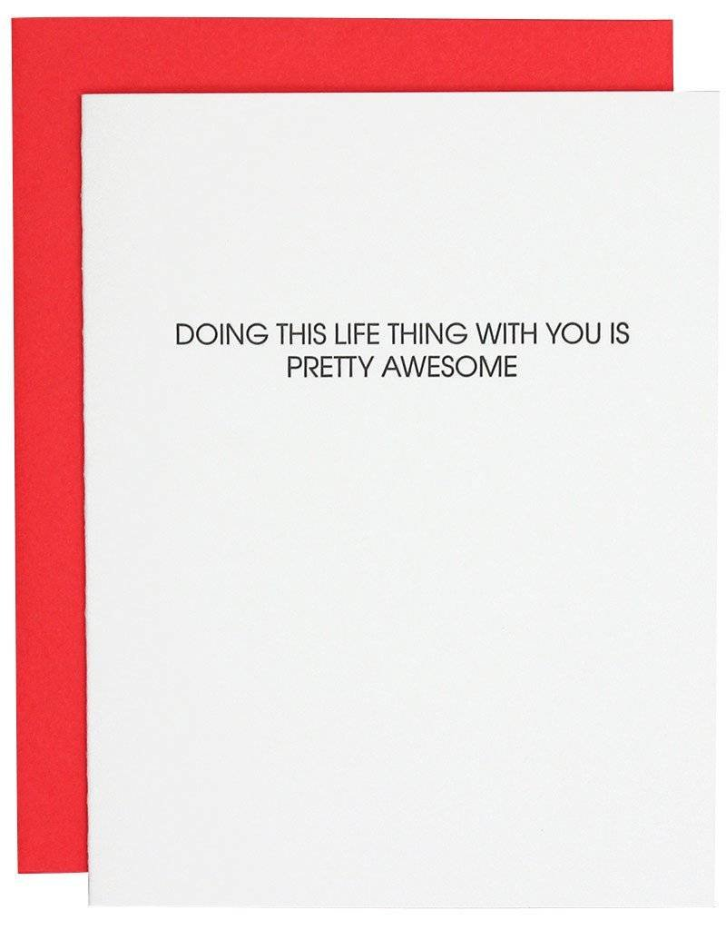 "Chez Gagne ""Doing Life With You"" Card"