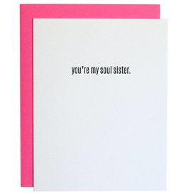 "Chez Gagne ""You're My Soul Sister"" Card"