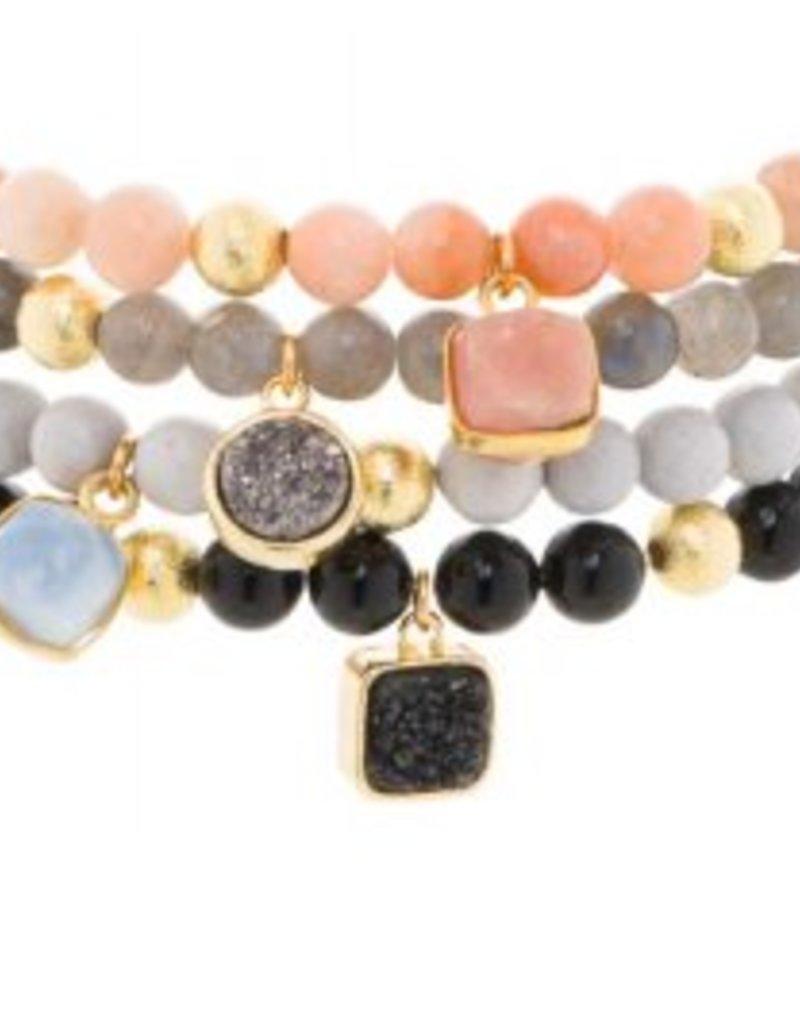 Loves Affect Kimber Bracelet w/ Stone Charm