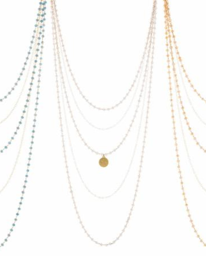 Loves Affect Amity Layering Necklace w/Small Charm