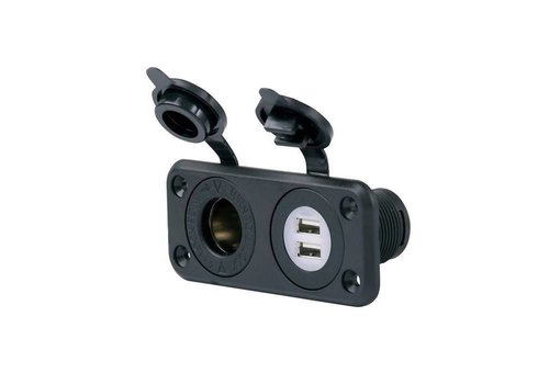 PRO-FIT DUAL USB PORT/12V OUTLET COMBO