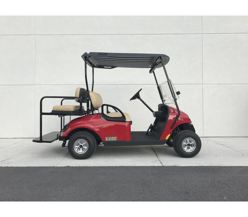 2018 E-Z-GO TXT 48V (FLAME RED)