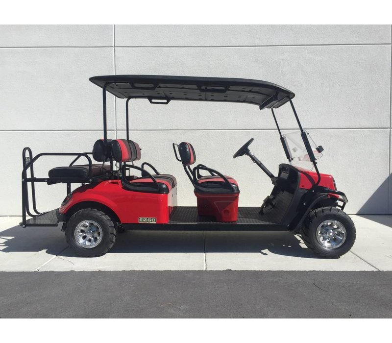 2018 E-Z-GO EXPRESS S6-E (FLAME RED)