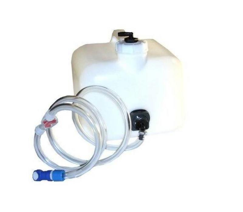 BATTERY WATER SYSTEM 2.5 GALLON GRAVITY FEED TANK FO...