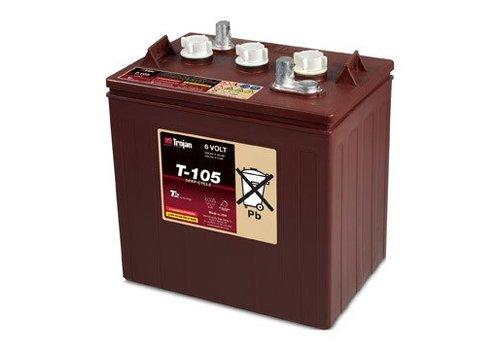 TROJAN T105 6 VOLT BATTERY TROJAN T105 115AMP HR