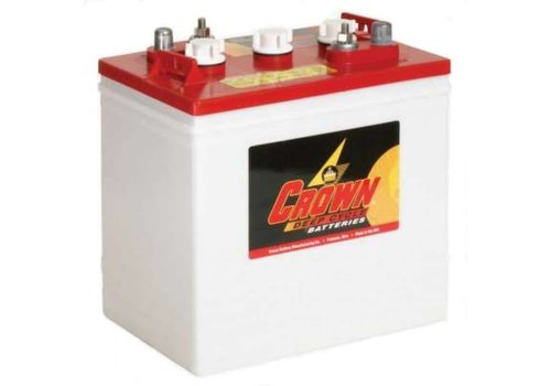 CROWN CR235 6 VOLT BATTERY CROWN 125AMP HR