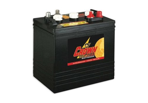 CROWN CR205 6 VOLT BATTERY CROWN 105AMP HR