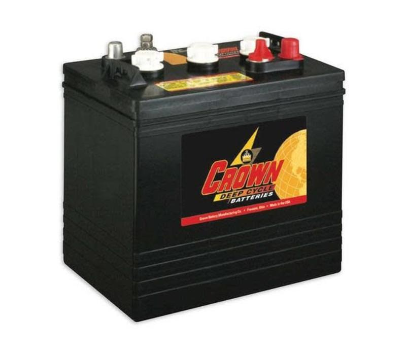 CR205 6 VOLT BATTERY CROWN 105AMP HR