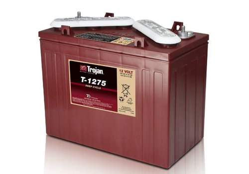TROJAN T1275 TROJAN 12 VOLT BATTERY: 102AMP HOUR