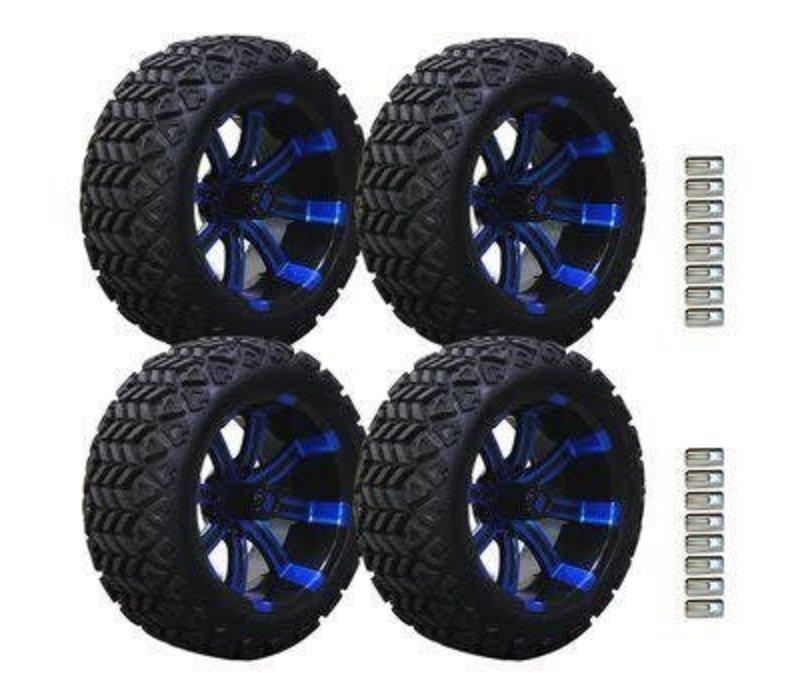 SET,14 B.LASH X W/SPART.14X7 BLUE/BLK