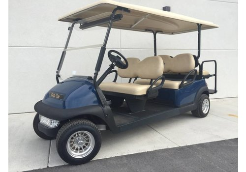 E-Z-GO 2012 CLUB CAR PRECEDENT 6 PASSENGER (BLUE)