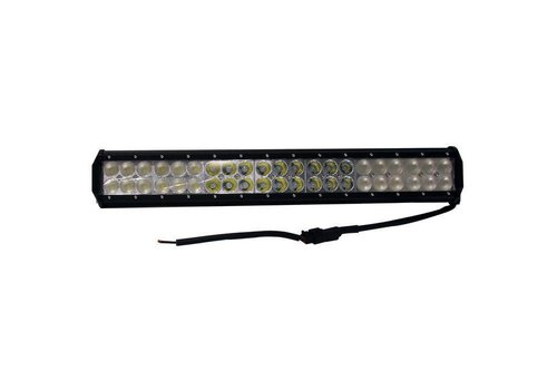 "20"" DUAL ROW WHITE LED LIGHT BAR"