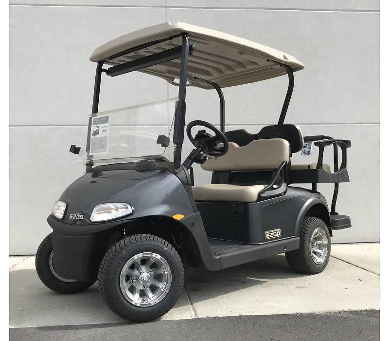 2018 E-Z-GO RXV ELITE 3.0 (Metallic Charcoal)