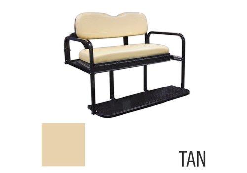 E-Z-GO REAR FLIP SEAT KIT TXT TAN 96-UP