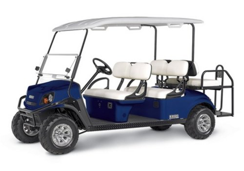 E-Z-GO 2018 E-Z-GO EXPRESS S6-E (Electric Blue)