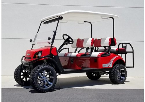 E-Z-GO 2018 E-Z-GO EXPRESS L6-E 72V (Flame Red)