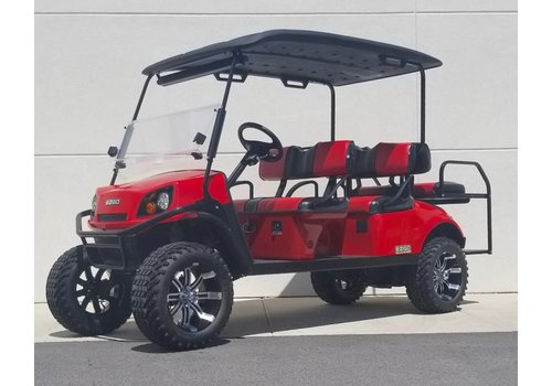 E-Z-GO 2018 E-Z-GO EXPRESS L6-E (Flame Red)