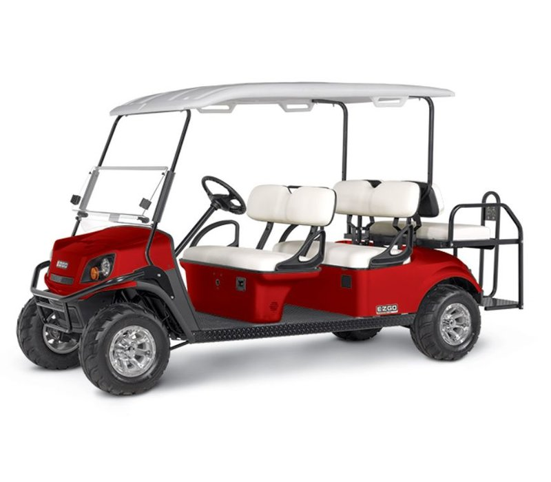 2018 E-Z-GO EXPRESS S6 72V (Flame Red)