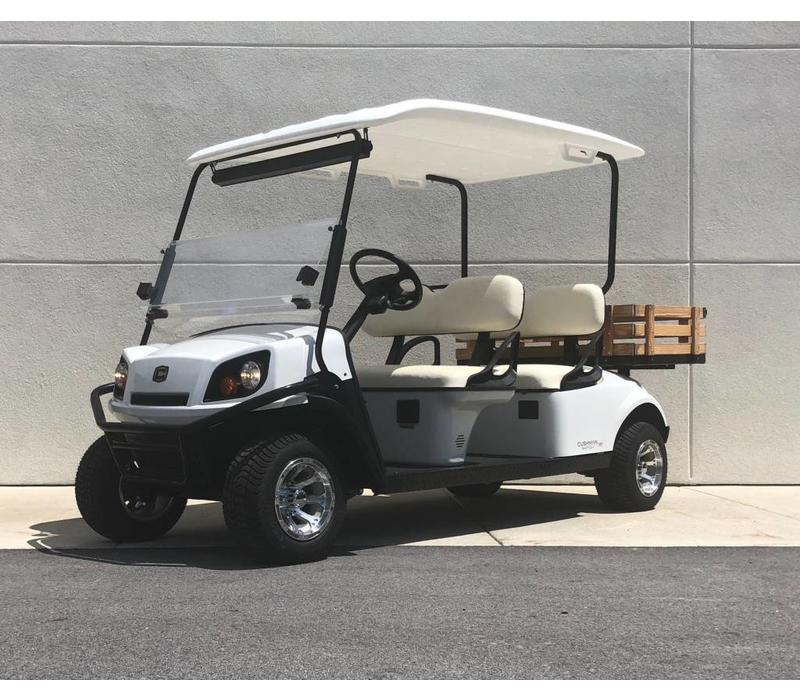 2018 CUSHMAN SHUTTLE 4 (WHITE)