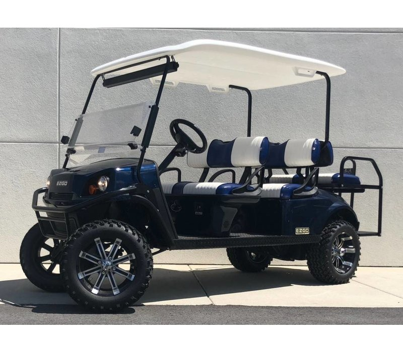 2018 E-Z-GO EXPRESS L6-G (Patriot Blue)