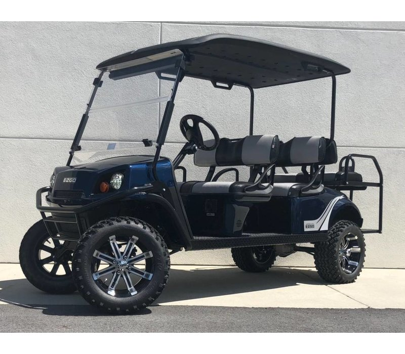 2019 E-Z-GO EXPRESS L6-E 72V (Patriot Blue)