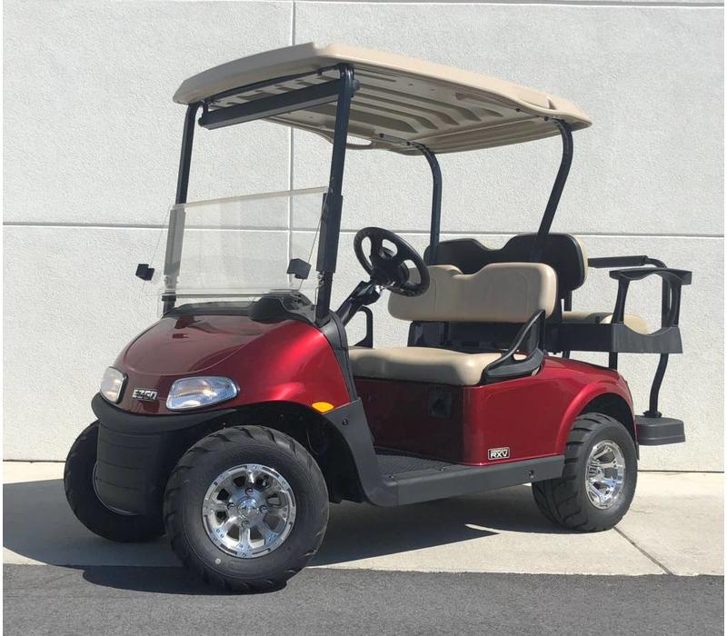 2019 E-Z-GO RXV-E (Inferno Red)