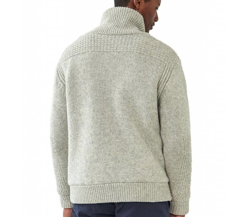 Sweater Jacket Stone