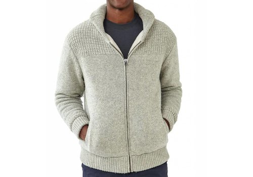 The Normal Brand Sweater Jacket Stone